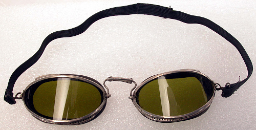 Goggles, Flying, United States Army Air Service, General William Mitchell