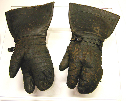 Gloves, Flying, Charles A. Lindbergh