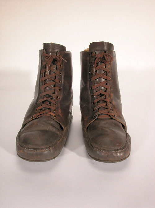 Boots, Flying, Civilian, Charles A. Lindbergh