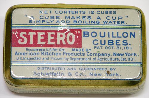 Bouillon Cubes, Charles A. Lindbergh