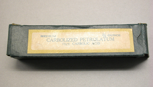 Carbolized Petrolatum, Charles A. Lindbergh