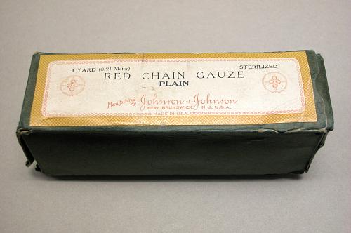 Red Chain Gauze, Charles A. Lindbergh