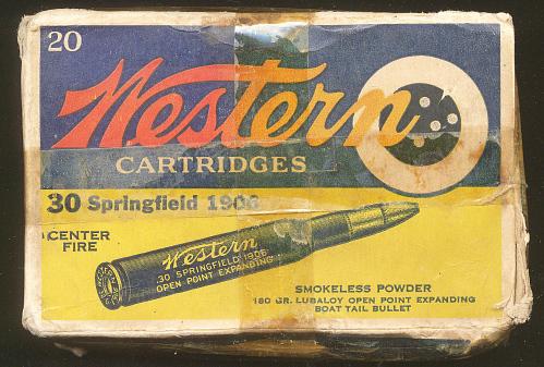 Cartridges, Cal. .30-'06, Charles A. Lindbergh