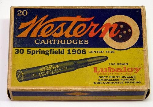 Cartridges, Cal. .30-06, Charles A. Lindbergh