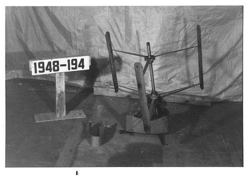 Model, I.B Laskowitz, Wind Tunnel, Cyclogiro Rotor, 3-Blade