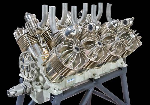 Curtiss B-8, V-8 Engine
