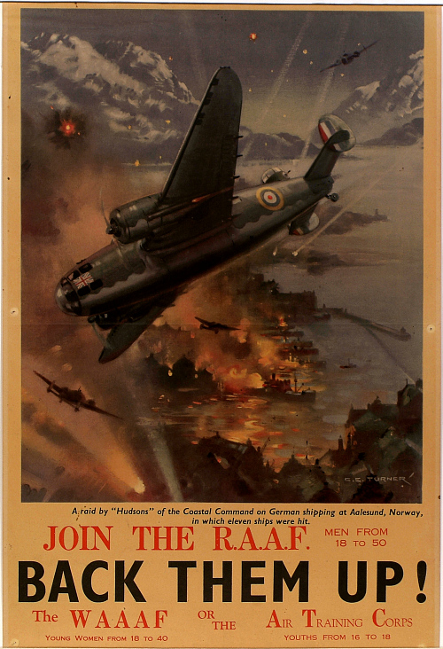 Join the R.A.A.F. - Back them Up!