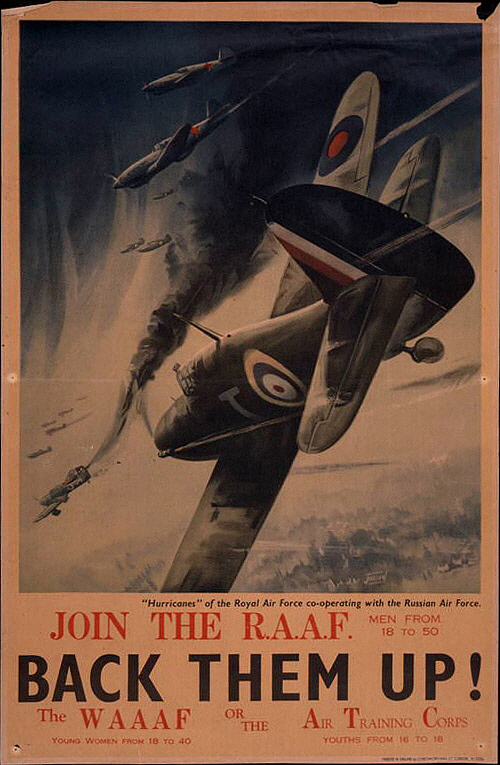 Join the R.A.A.F Back them Up!