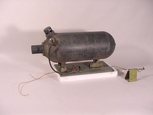 Rocket Motor, Solid Fuel, JATO, 8AS-1000