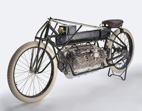 Motorcycle, Curtiss V-8