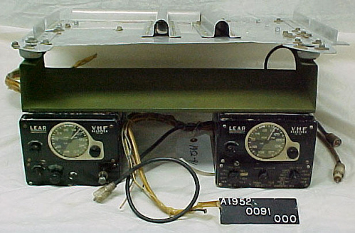 "Transmitter and Receiver, Lear LR-58, P-51 ""Excalibur III"""