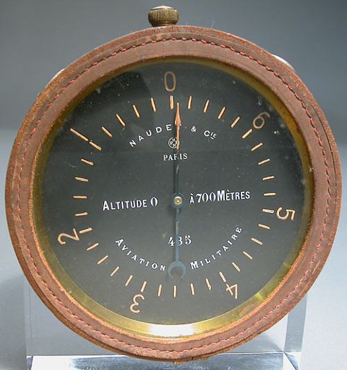Simple Altimeter, Balloon, French