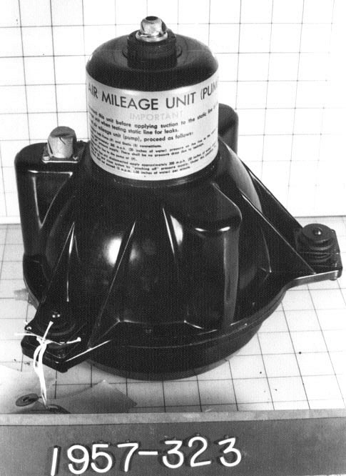 "Pump, Electric, ""Air Mileage Pump"", Air Position Indicator"