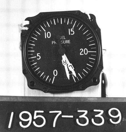 Box, Indicator, Fuel Pressure