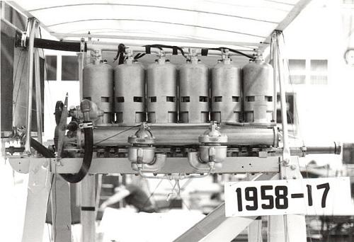 Roberts 6X, In-line 6 Engine