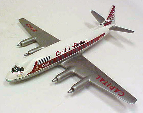 Model, Static, Vickers 745 Viscount, Capital Airlines