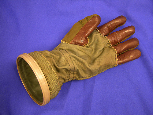 Glove, Left, Pressure Suit, Mark II, Model 'R', USN