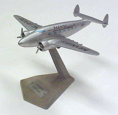 Model, Static, Lockheed 18 Lodestar, Braniff International Airways