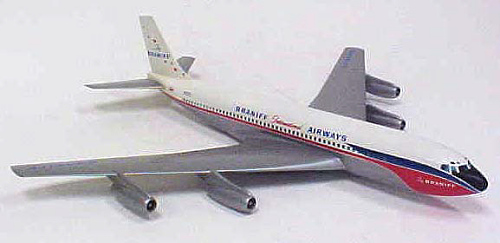 Model, Static, Boeing 707-227, Braniff International Airways
