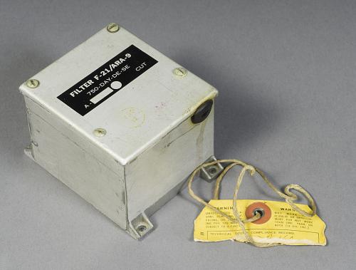 Filter, Low Impedence Radio Range, F-21/ARA-9