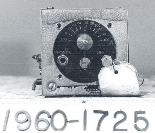Receiver, Radio Range, BC-1206-A, from Fairchild PT-26