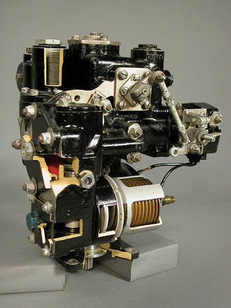 General Electric J33 Turbojet Fuel Control