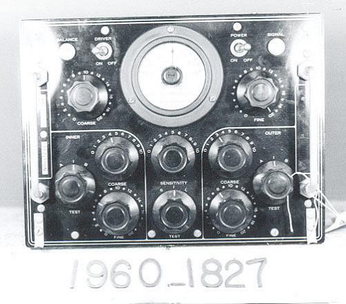 Control Unit, Magnetic Airborne Detection, AM-1/ASQ-1