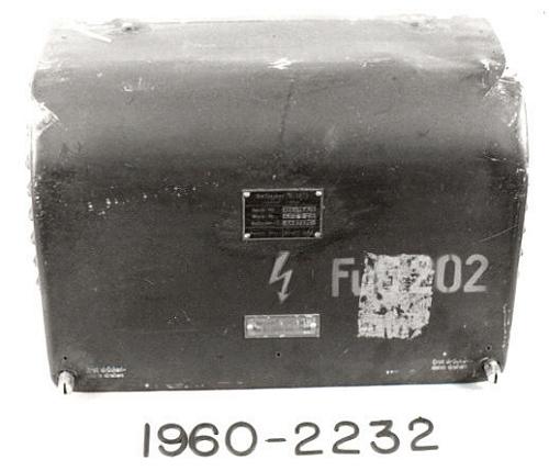 Transformer, Radar, German, FuG 202, Type U.10/S, Gerat-Nr 124-14A-1
