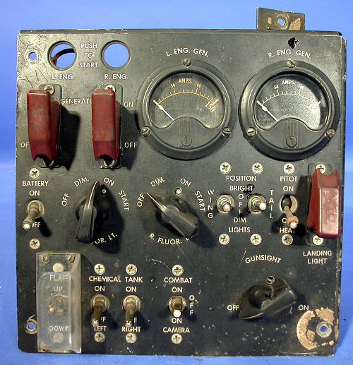Electrical Panel, P-59A