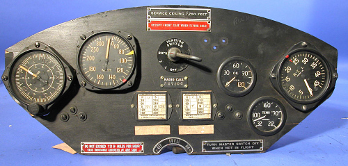 Instrument Panel, L-3B