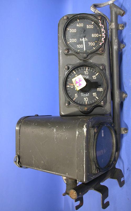 Instrument Panel, Heinkel He 177, Righthand forward,