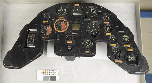 "Instrument Panel, Kawasaki Ki-45, ""Nick"""