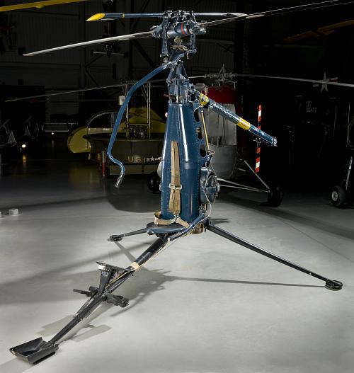 Hiller YROE-1 Rotorcycle