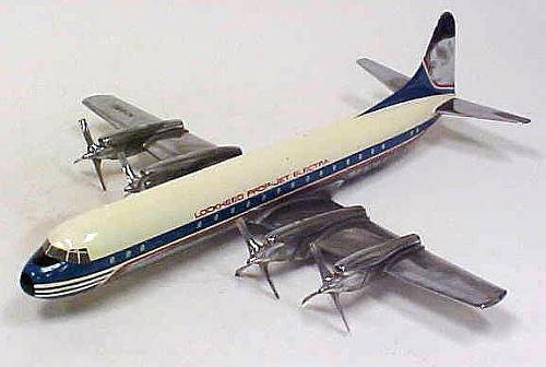 Model, Static, Lockheed 188A Electra II