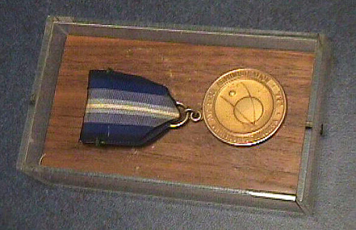 Case, Distinguished Service Medal, NASA, 1961, Alan Shepard