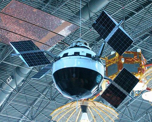 Satellite, Pioneer V, Reconstructed Replica