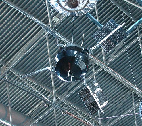 Satellite, Explorer 6, Reconstructed Replica