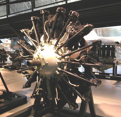 Pratt & Whitney Hornet R-1860-B Radial Engine