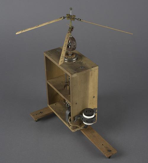 Model, Helicopter Rotor System, Motorized, I.B Laskowitz