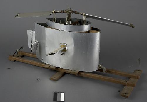 Model, Experimental Dynamic VTOL, Rotor (helicopter), Jet Powered, I.B Laskowitz