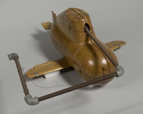 Model, Experimental Dynamic VTOL, Rotorless, Jet Powered, I.B. Laskowitz