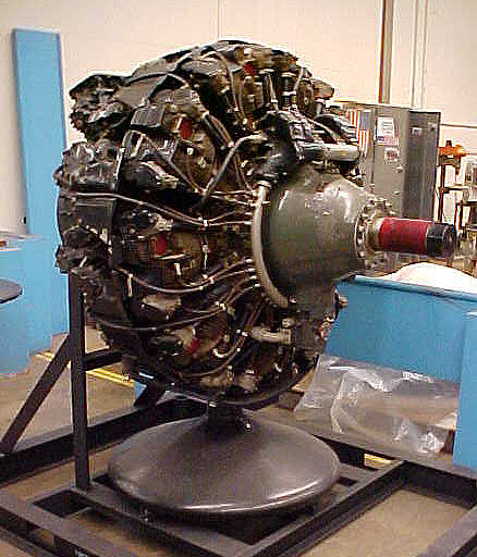 Wright Cyclone GR-3350 Radial Engine