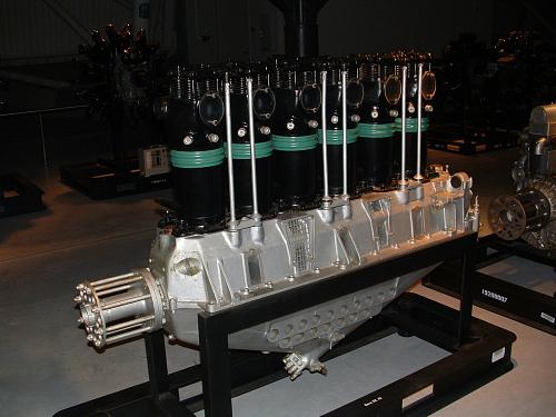 Benz BZ 4S In-line Engine
