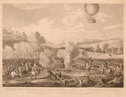 Bataille de Fleurus gagnée par l'Armée Française le 8 Messidor de l'an 2