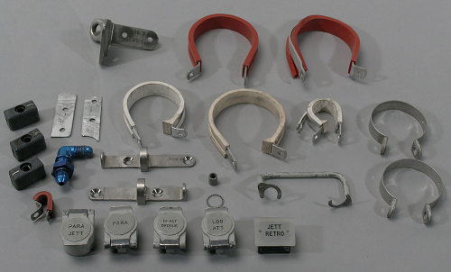 Clamps, Fittings, Switch Covers, Bolts, Washers, Gemini XII