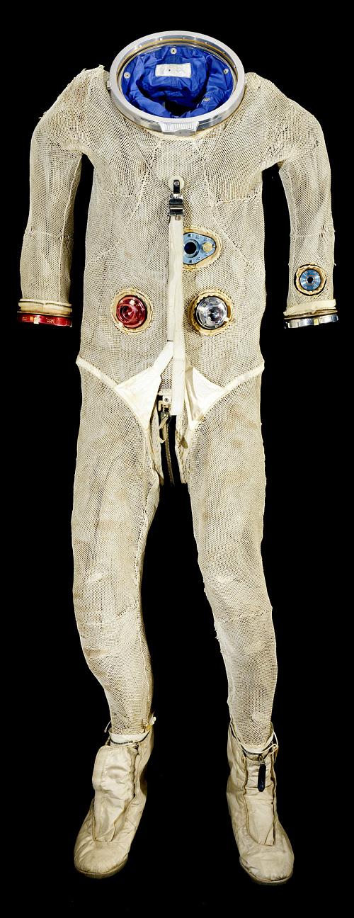 Pressure Suit, G4-C, Cernan, Gemini 9, Flown