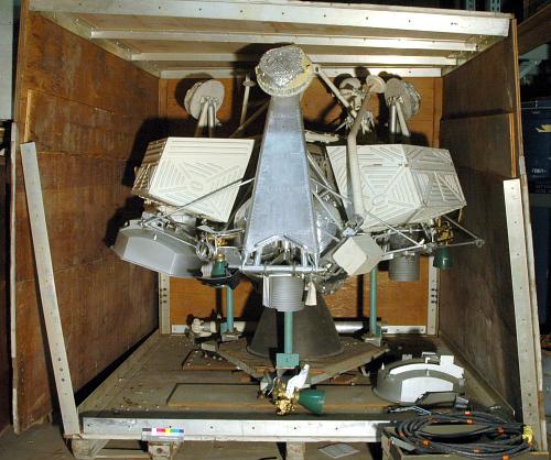 Lunar Lander, Surveyor, Engineering Mock Up