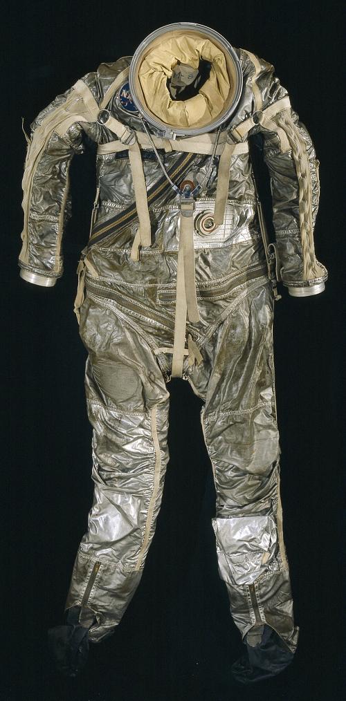 Pressure Suit, Mercury, M-8, Shepard, Training