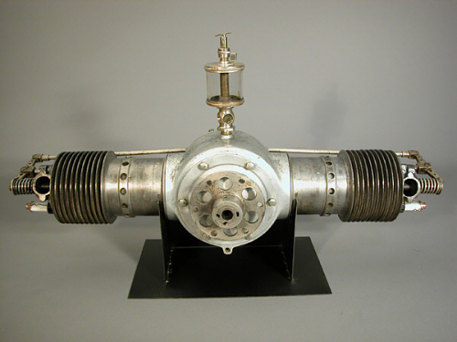 Bates Model 2 B Horizontally-opposed Engine