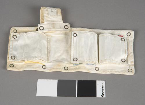 Pouch, Biobelt, Collins, Apollo 11